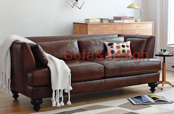 3 - Кожаный диван на заказ