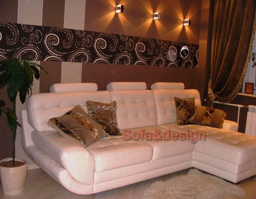 4 - Кожаный диван на заказ