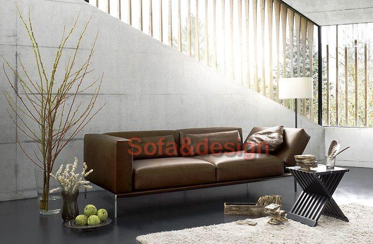 77925 ledersofa piu intertime - Кожаный диван на заказ