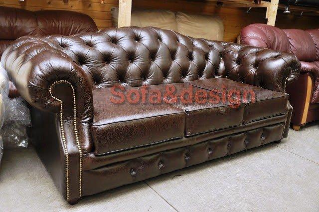 DSC2892 - Кожаный диван на заказ
