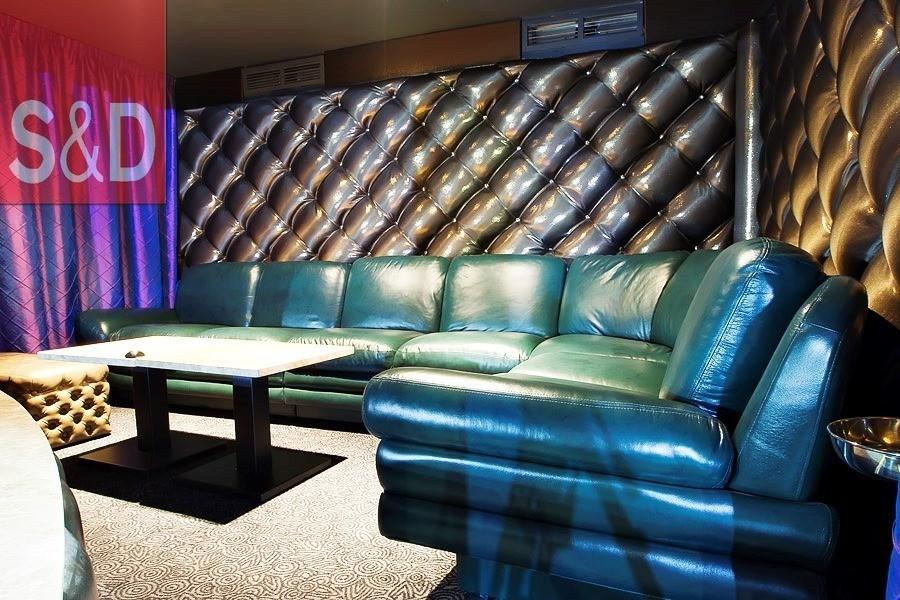 G55G3264 - Зеленый диван на заказ
