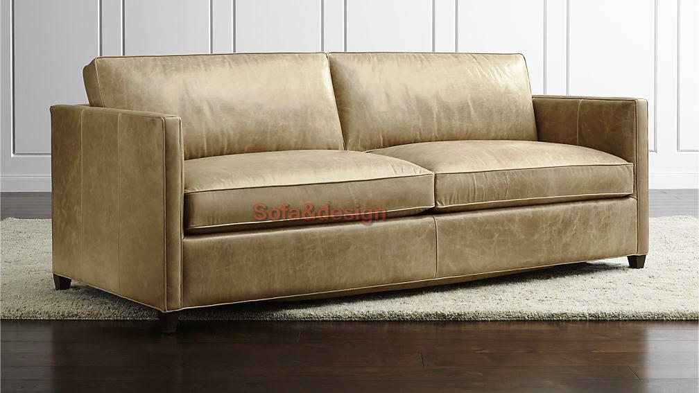 dryden leather sofa - Кожаный диван на заказ