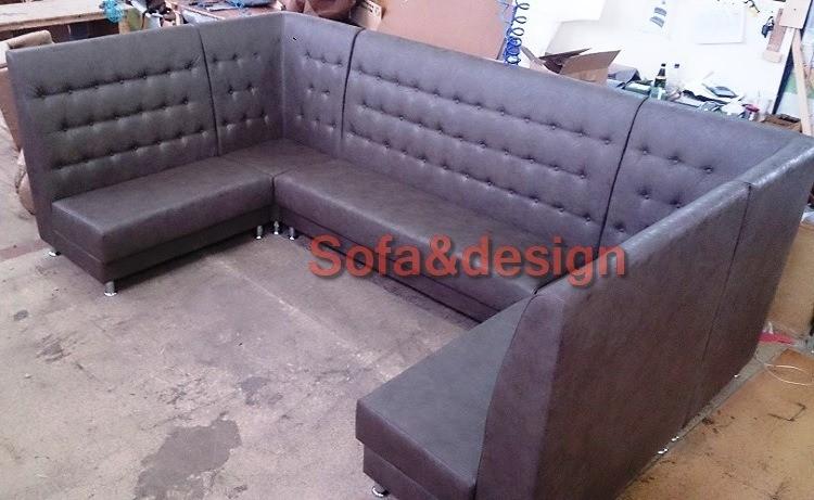 DSC 1287 - П образный диван на заказ