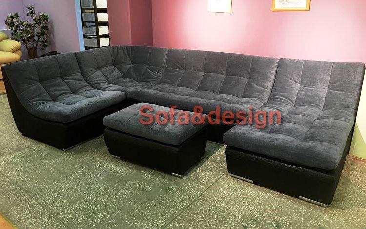 divan lancaster grey - П образный диван на заказ