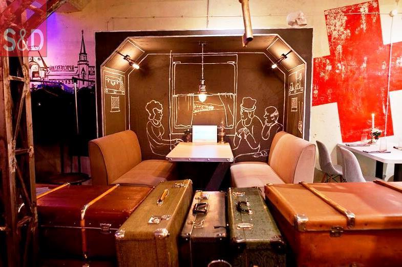 1 4 - Мягкая мебель для кафе/ресторанов