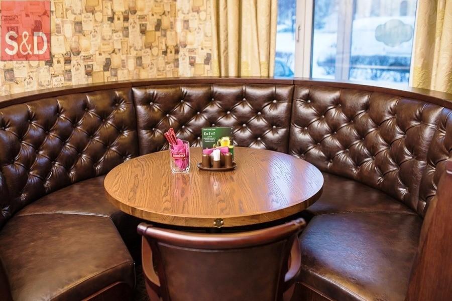 14 - Мягкая мебель для кафе/ресторанов