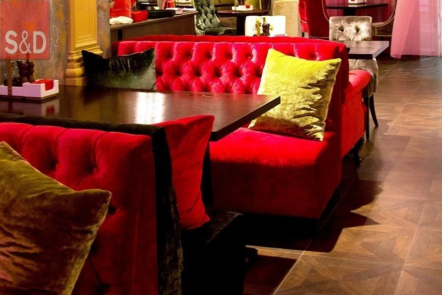 3 2 1 - Мягкая мебель для кафе/ресторанов