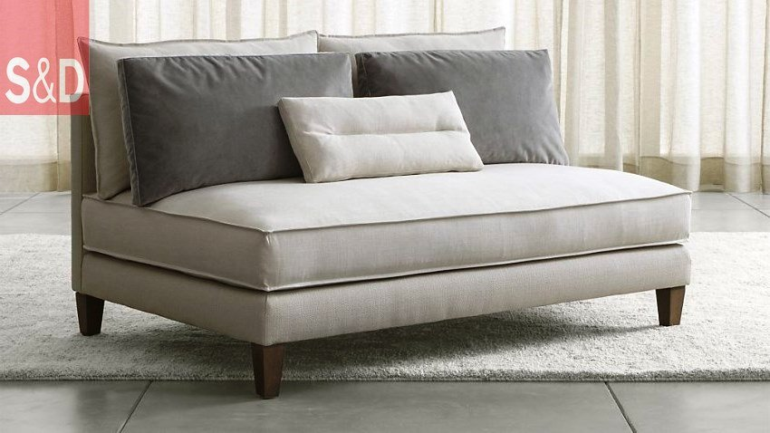 Armless loveseat from Crate Barrel - Авторский диван на заказ