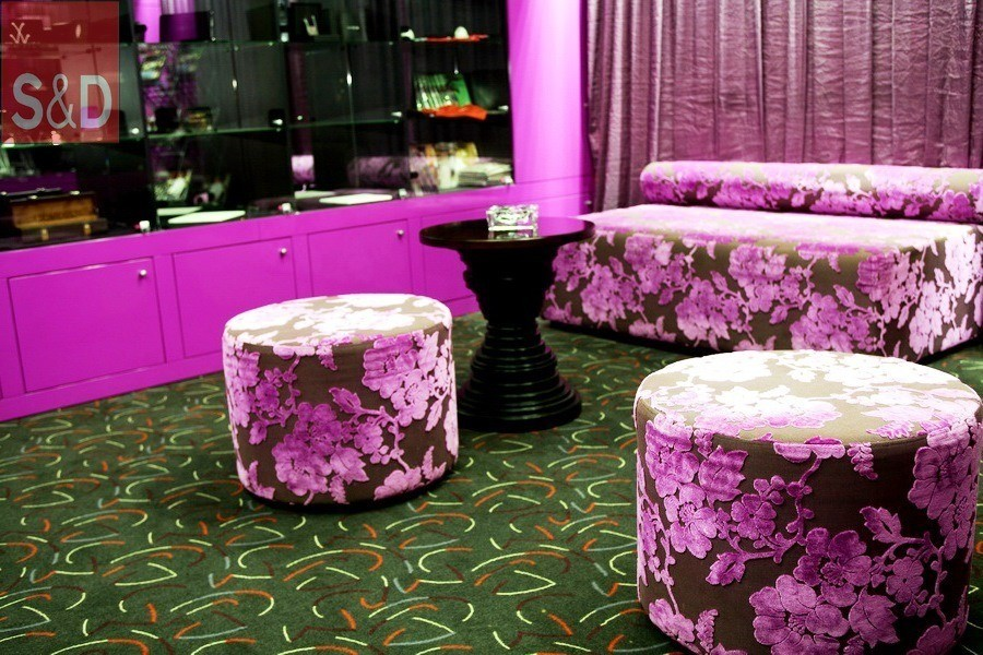 DLux3 - Фиолетовый диван на заказ