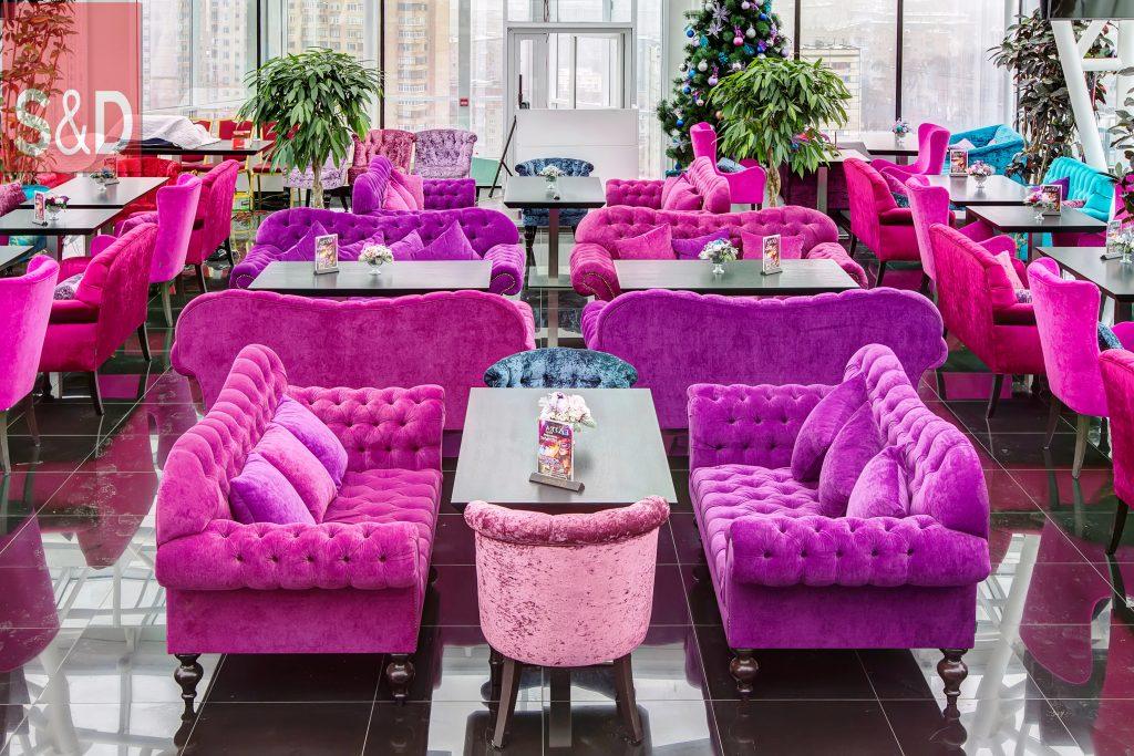 G55G4335 6 7 1024x683 - Мягкая мебель для кафе/ресторанов