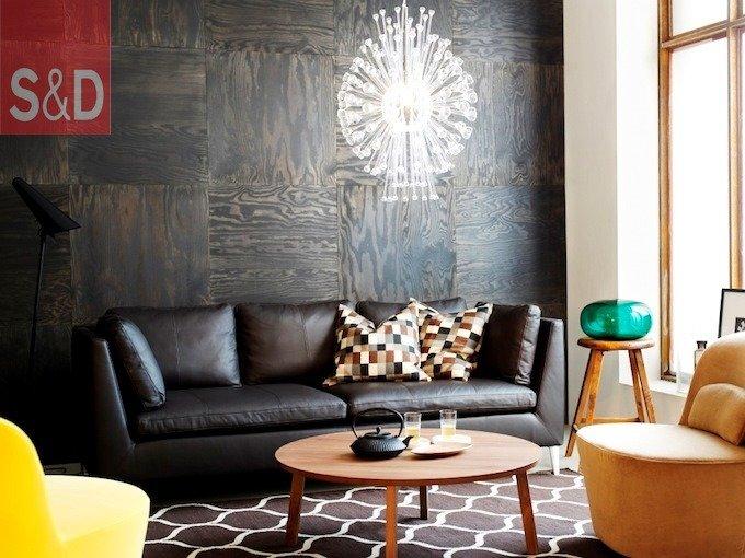 Leather Sofa Set - Прямые диваны на заказ