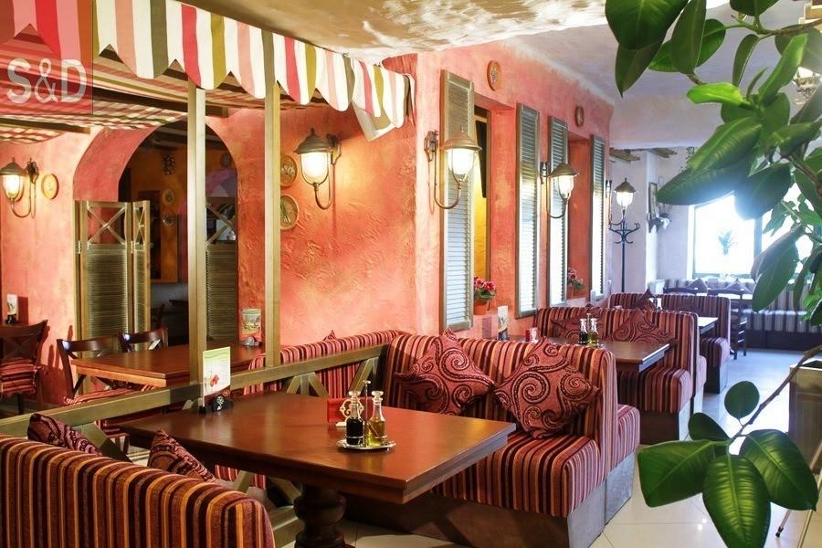 Smacotella2 - Мягкая мебель для кафе/ресторанов