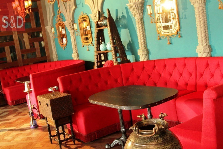 ToucheCafe2 - Мягкая мебель для кафе/ресторанов
