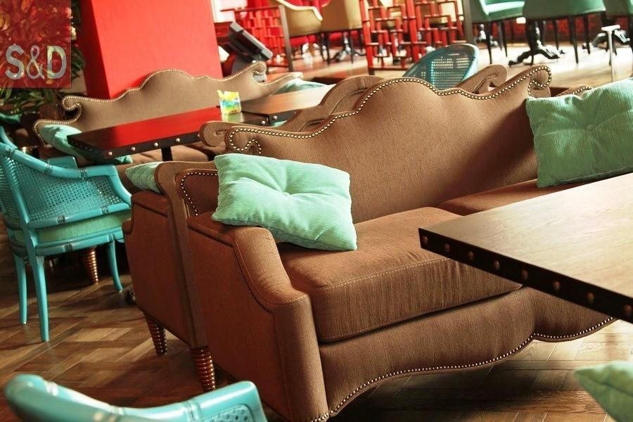 ToucheCafe3 - Мягкая мебель для кафе/ресторанов
