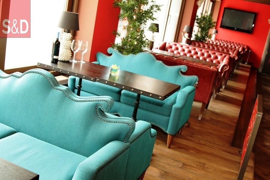 ToucheCafe4 - Мягкая мебель для кафе/ресторанов