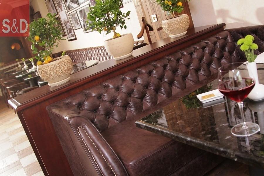 VaBene1 - Мягкая мебель для кафе/ресторанов