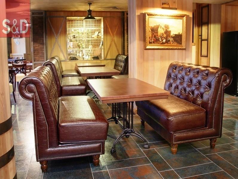 Viller - Мягкая мебель для кафе/ресторанов
