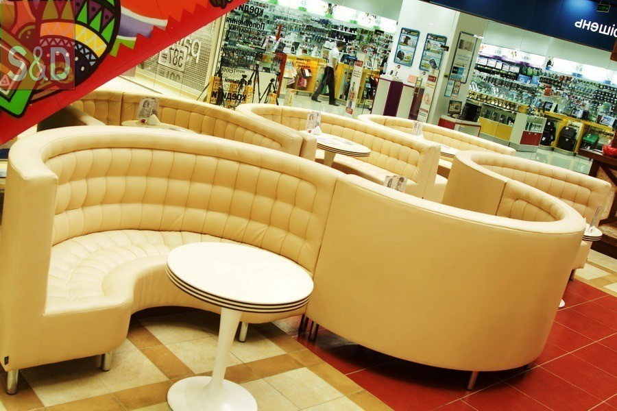 bondu - Мягкая мебель для кафе/ресторанов