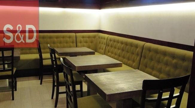 k22 - Мягкая мебель для кафе/ресторанов