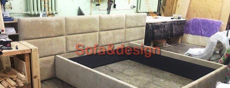 ka34 - Мягкая кровать под заказ