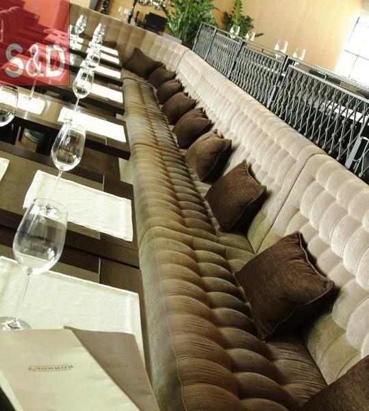 konkord3 - Мягкая мебель для кафе/ресторанов