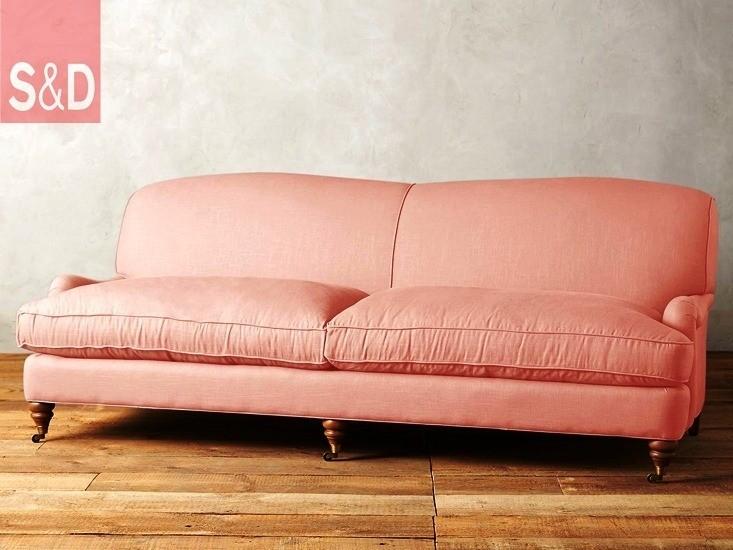 linen glenlee sofa petal remodelista - Авторский диван на заказ