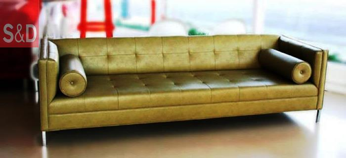 wwwroomservicestore 007 sofa phoenix faux leather in light faux leather sofa - Прямой диван на заказ