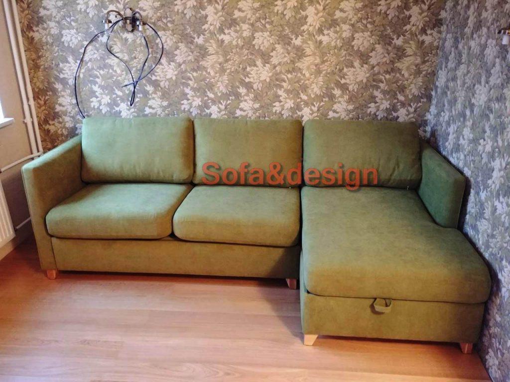 100300 1024x768 - Зеленый диван на заказ