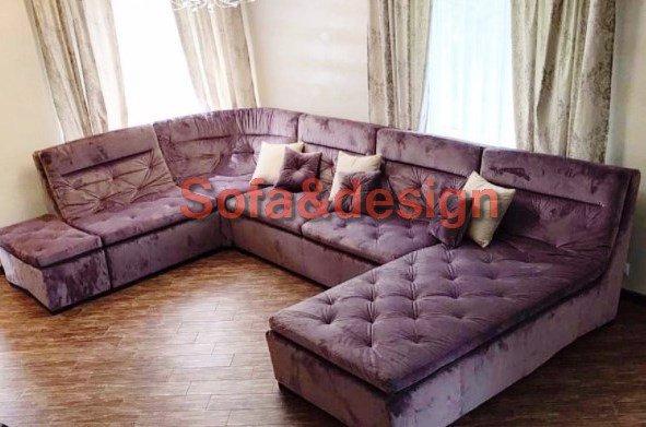 Screenshot 35 - Фиолетовый диван на заказ