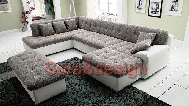 trendmanufaktur wohnlandschaft wahlweise mit bettfunktion - Угловой модульный диван