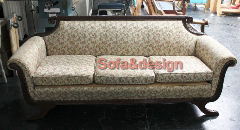 Hulsey bailey kickpleat sofa before blog - Мягкая мебель в стиле Ренессанс