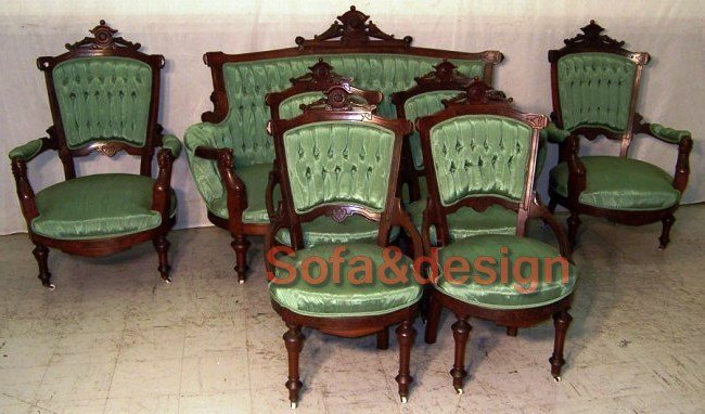 Jelliff - Зеленый диван на заказ