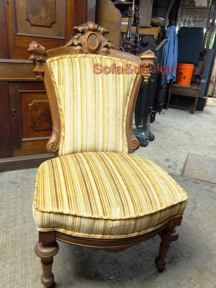 Renaissance Revival Side Chair beforeL - Мягкая мебель в стиле Рококо