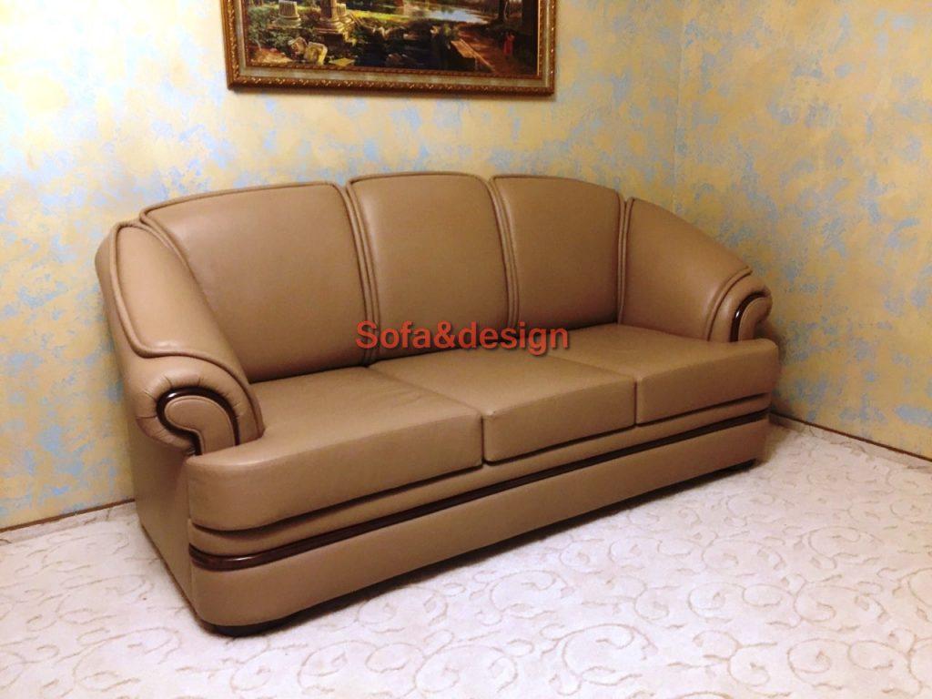 Kozhanyiy divan pryamoy2 1024x768 - Мягкая мебель для гостиной на заказ