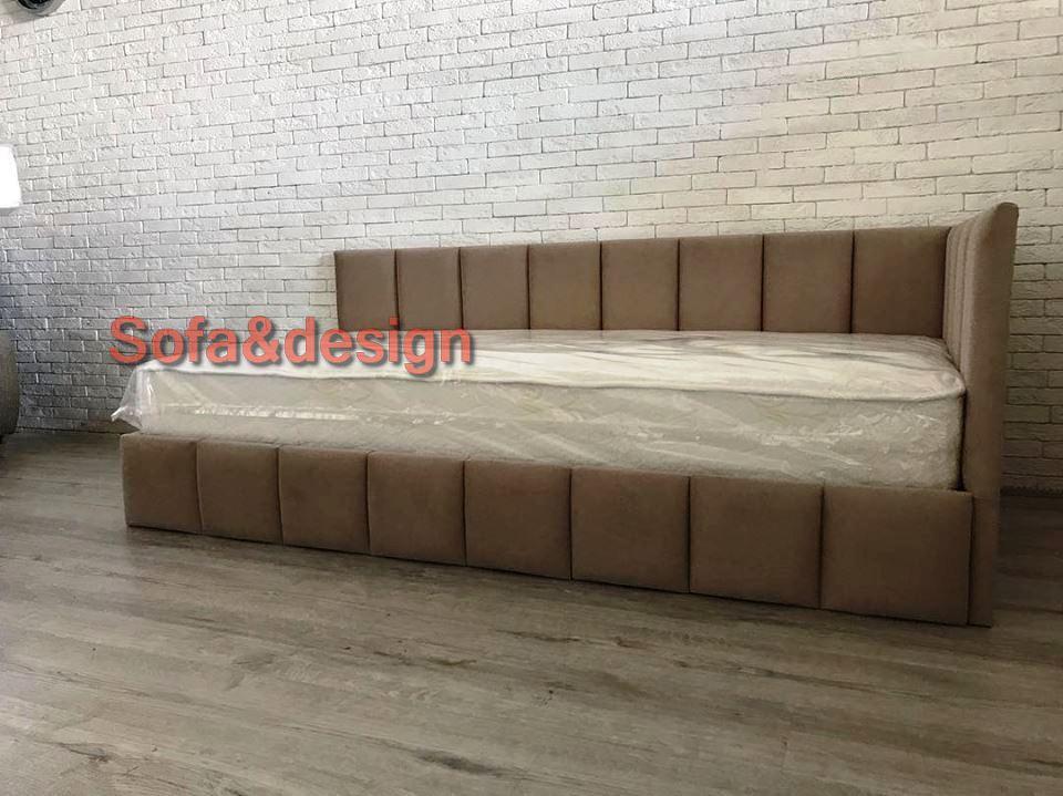 3824 n - Мягкая кровать под заказ