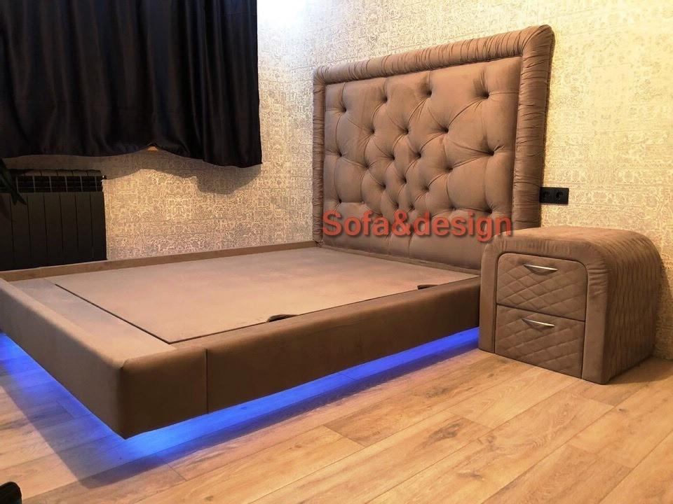 var6lsh - Мягкая кровать под заказ